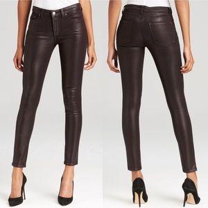 SPANX Slim-X Skinny Jeans - Aubergine Wax